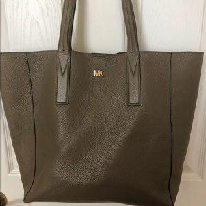 MK Junie Large Pebbled Leather Tote Bag